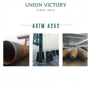 China ASTM A252 Steel Pipe Pile on sale