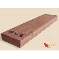 China Dailian peach wood, large flower Teng peach preservative wood on sale