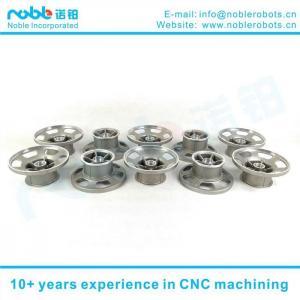 China 10 Inch Aluminum Alloy Stair Climbing Robot Wheel Hub CNC Machining on sale