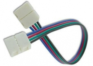 China Solderless Wire LED Strip Connector Multi Color Customizable Any Angle on sale