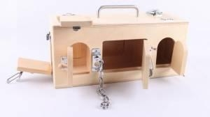 China Mobile Science Cart Lock Box on sale