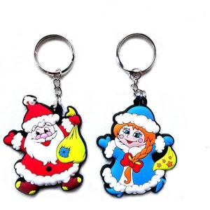 China Plastic Christmas Keychain(A1001) on sale