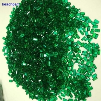 Loose gemstone Created Russian emerald