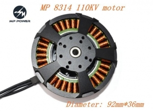 China HOT SALE 8314 KV110 Outrunner Sensorless Brushless Motor on sale