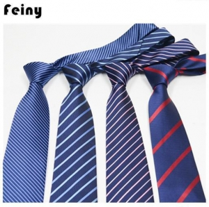 China Customized Polyester Silk Neck Ties For Men on sale