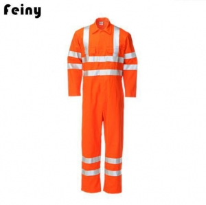 China FR Reflective Hi Vis Working Coverall on sale