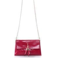 China Yafeige Women's Cowhide leather Crossbody Handbag with Metal Chain Strap on sale