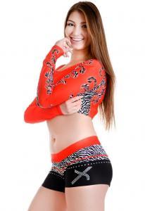 China Sublimation Rhinestones Cheerleading Uniforms on sale