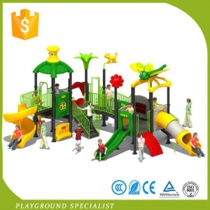 China Cheap Outdoor Plastic Playsets Jungle Gym For Kids on sale