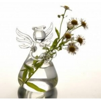 Creative Valentine's Day Gifts Angel Glass Vase Handmade flower vase Glass Crafts