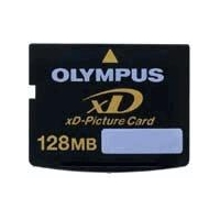 USB Flash Drive - Style Wood-101 Olympus 128mb xD Picture Card