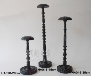 China Display stand Solid wood hat on sale