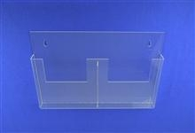 China Double A4 Menu Leaflet Acrylic Holder on sale