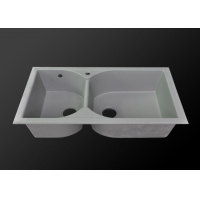 Solid Surface quartz undermount kitchen sinks BA-QS002