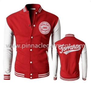 China custom made varsity jackets on sale