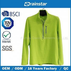 China Dw15010 Male 100% Polyester Fleece Fashion Jacket on sale