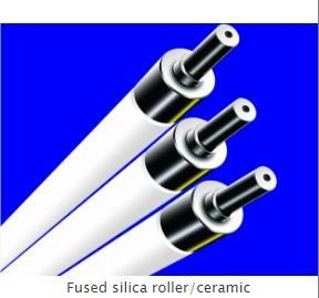 China Fused silica roller/ceramic on sale