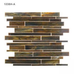 China Brown Mosaic Bathroom Tiles on sale