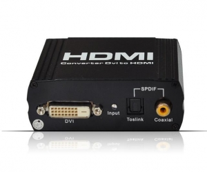 China Optical AudioDecorder DVI+SPDIF to HDMI Converter on sale