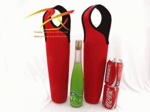 China Neoprene bottle sleeve,bottle tote bag on sale