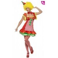 China Boo Boo The Clown Women's Circus Costume and Adult Scary Clown Costumes on sale