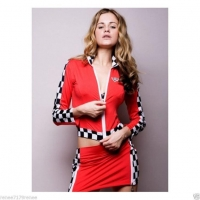 Women Fancy Driver Racer Costume and Running Sport Costumes from China
