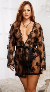 China Cheap Sexy Plus Size Chemise Sleepwear Women Fishnet Chemise Lingerie on sale