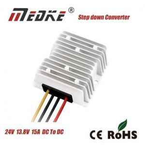 China Medke Factory Direct Sale Buck Converter 24V to 13.8V 15A Power Converter for Car Power Supply on sale