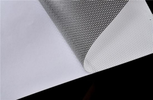 China Solvent Printing Material HP Latex Printing One Way Vision 50% on sale