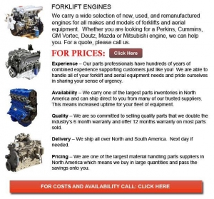 China Forklift Engines on sale
