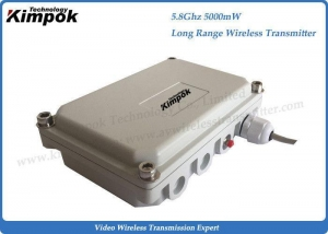China OEM Long Range UAV Video Transmitter 5.8Ghz Long Range Video Transmitter and Receiver on sale