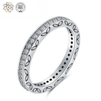 Pretty 925 Sterling Silver Jewerly Rings for Womens