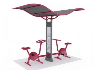 China Outdoor Playground Lower Limbs Warm up Trainer with Roof KW-0586 on sale