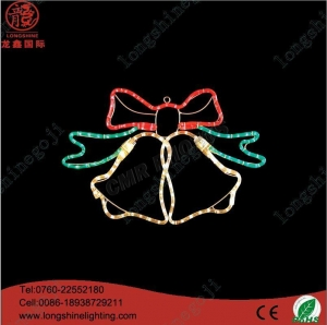 China Waving Hand Santa Claus With Reindeer Christmas Light supplier
