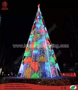 China 10M Colorful Taper Christmas Light on sale