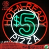 China Neon Sign Light Advertisement Neon Light For Pizaa House for sale