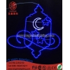 China Neon Sign Light Moon and Star EID/Corban Holiday Decorative Light for sale