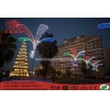 China Neon Sign Light Outdoor Pole Lamp Holiday Decoration Light for sale