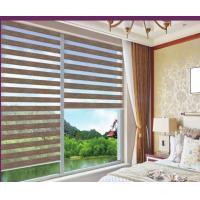 Linen zebra blinds