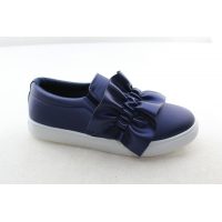 Mini fresh bow tie leisure shoes flat Princess shoes