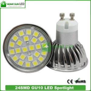 China Spot GU10 LED Lighting Bulbs SMD 5050 Chips 110V 220V or 12V on sale
