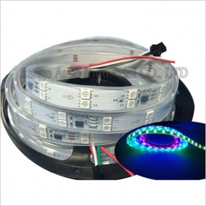 China Double Row 5050 RGB LED Strip 5M 360 LEDs SMD Light Waterproof 12V on sale