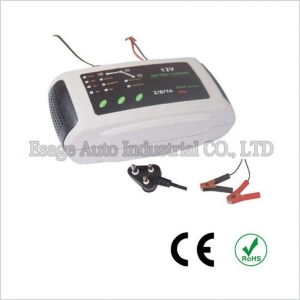 China Automatic 3-Stage Battery Charger 12V Lead-Acid Battery Smart Charger Maintainer on sale
