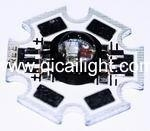 China 3 in 1 RGB High Power led Star No.: QC-RGB-3HPS on sale