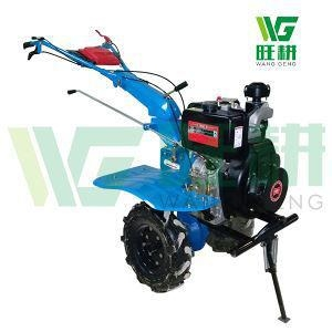 China 10HP Kama Diesel Power Rototiller with Multi-function Usage for Sale on sale