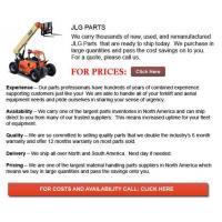JLG Forklift Part