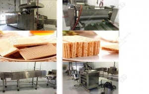 China Wafer Biscuit Production Line Manufacturer on sale