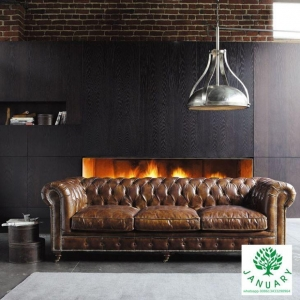 China Stylish Chesterfield Lounge Sofa Suites on sale