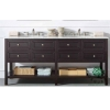 China Contemporary hotel bathroom Vanity cabinet for sale