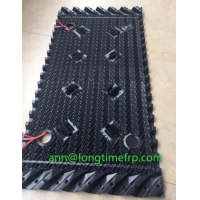 China 500mm*1230mm crossflow cooling tower packing fill on sale
